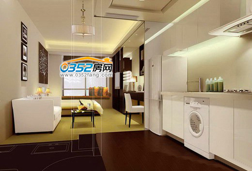 厨房 现代厨房装修效果图 况艺装修图片