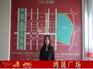 鸿晟广场给0352房网网友拜年 祝马年大吉