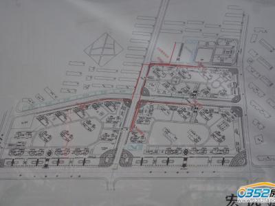同煤新苑项目规划实景图