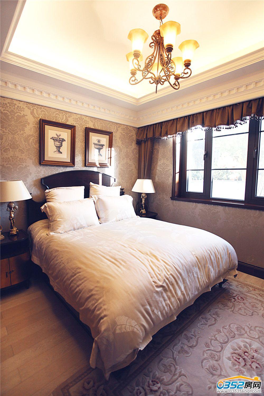 复地御澜湾样板间卧室-大同楼盘样板间图-0352房网