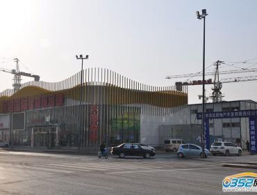 东信国际建材家居广场项目3.25建设情况