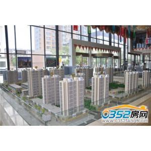 东信国际建材家居广场沙盘图
