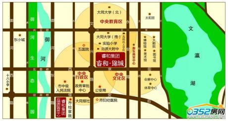 睿和锦城区位图