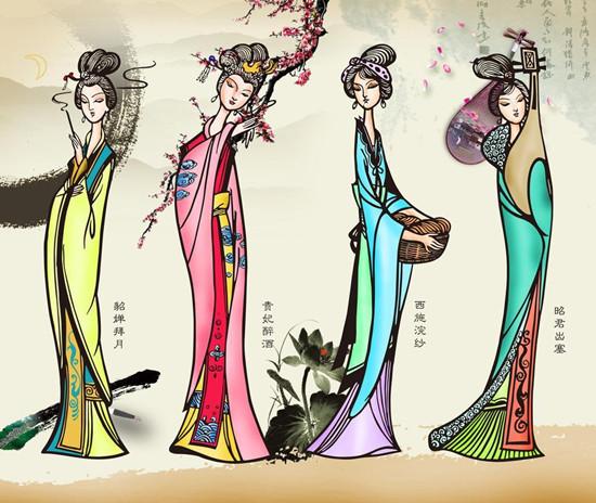 古代四大美女如果在大同他们会选择哪些项目