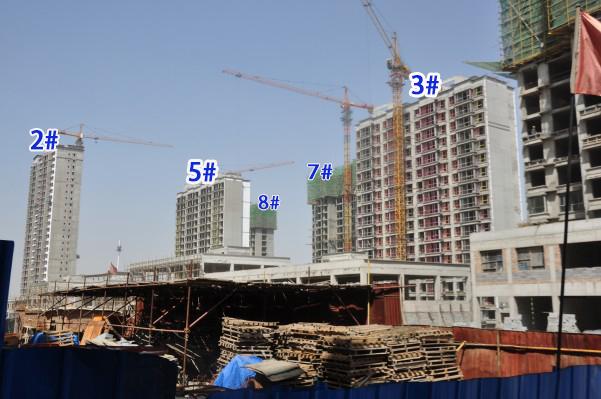 碧水云天御河湾4.27工程进度 6号楼近日将动工