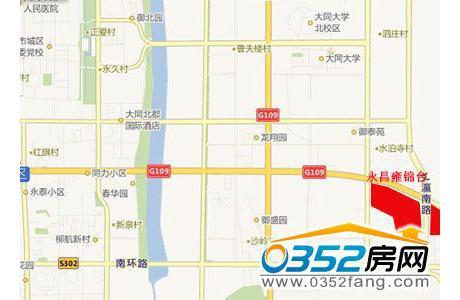 永昌雍锦台区位图