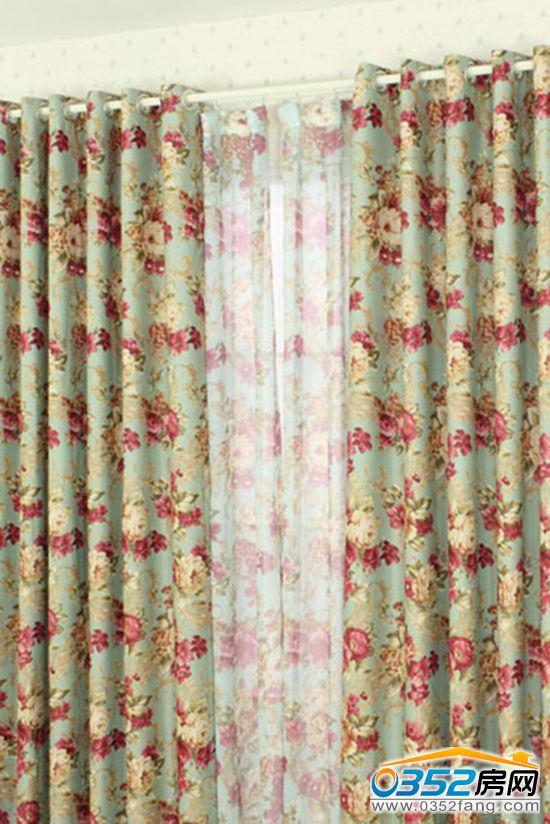 小编带你看欧式田园风格窗帘装饰效果图