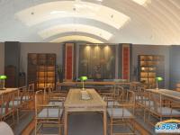 书法展览区