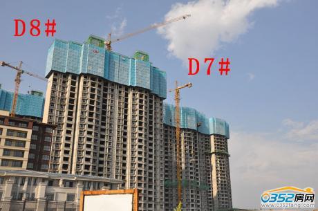 2017.8.31悦湖湾D7、8#工程进度