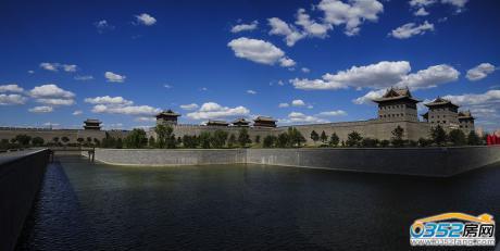项目周边环境实景图一护城河