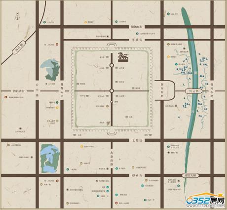 紫云华城区位图