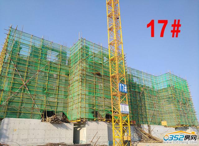 17号楼西段4层墙体吊钢模;东段3层剪力墙模板拆除.
