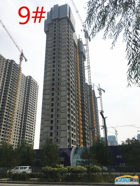 9号楼2017.9.29工程进度