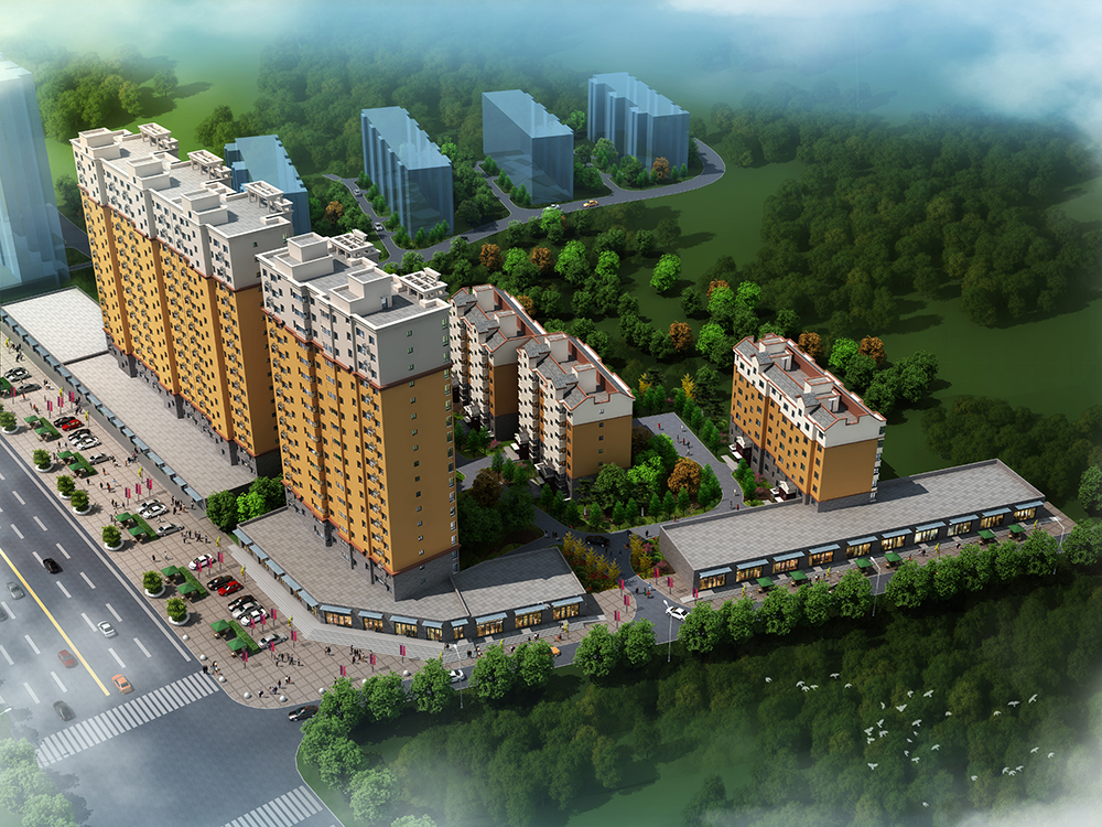 华岳·绿洲西城四期