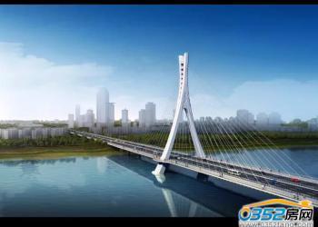 开源桥最新工程进度:主桥斜拉索开始挂装!