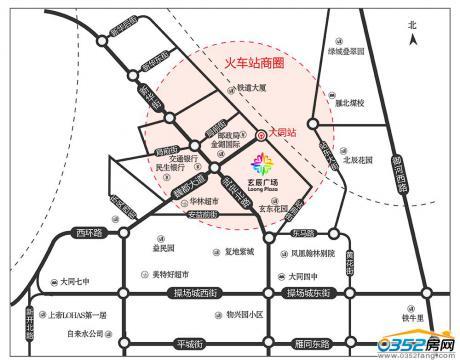 玄辰广场区位图