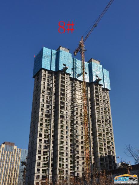 11.3碧水云天·新河湾8号楼工程进度