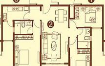 恒大绿洲 3室2厅1卫 131㎡二中 实验 地理位置成熟 好户型 好采光