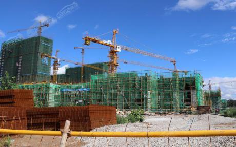 富力·珑悦湾7·25工程进度