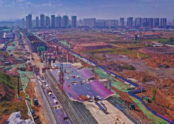 大同南中环快速路主桥施工 预计2019年底完工