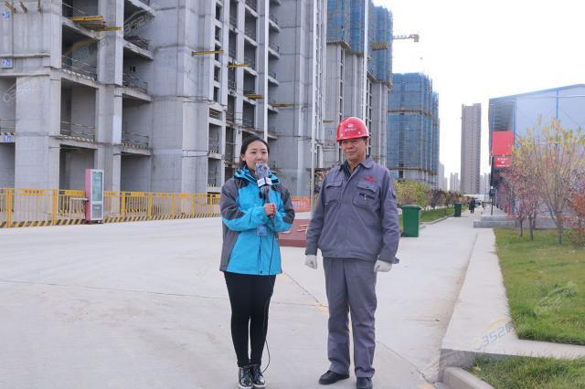 建龙·平城府总工张建国:致力于打造优质楼盘