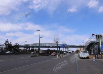 跨御河东路人行天桥进展 最快月底可投入使用