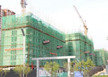 金水南源5月7日最新工程进度 最高盖至8层!