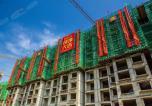 枫林逸景二期雅居园工程进度 4号楼已封顶!