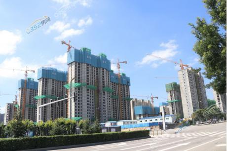 瑞湖·天泰苑8.12日工程实景