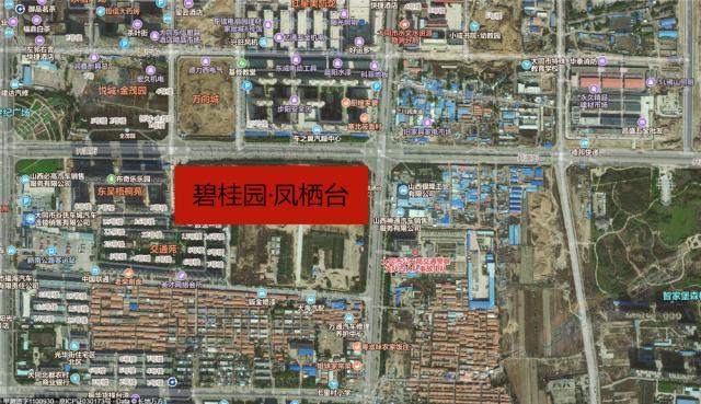 碧桂园·凤栖台区位图1