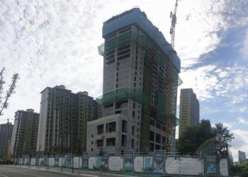 雍锦台二期项目已全线封顶 均价9500元/㎡!