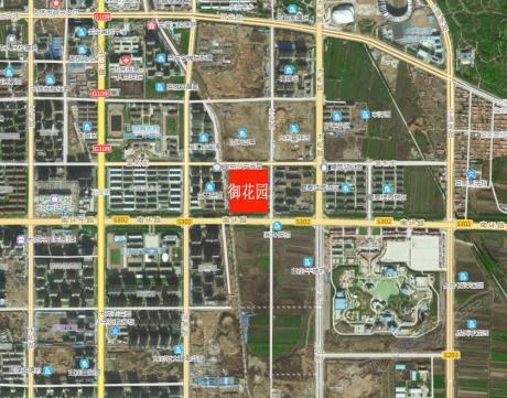 御花园卫星地图