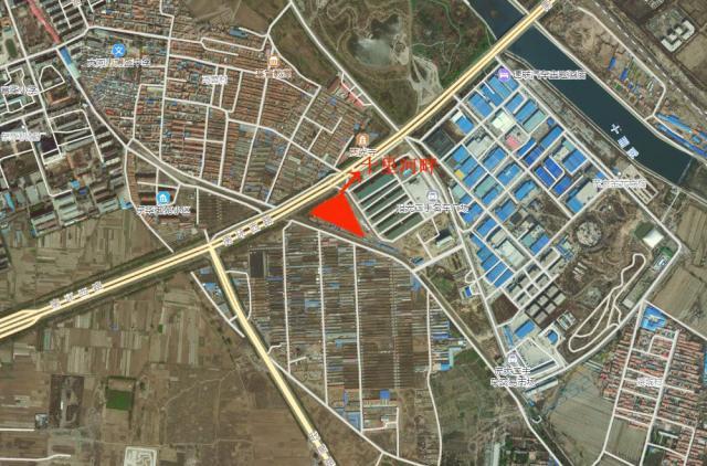 十里河畔卫星图1