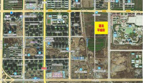 建龙·平城府卫星区位图
