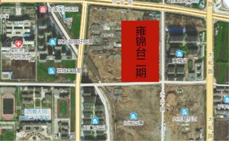 雍锦台二期卫星图