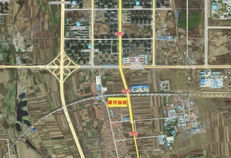 御龙尚府卫星区位图
