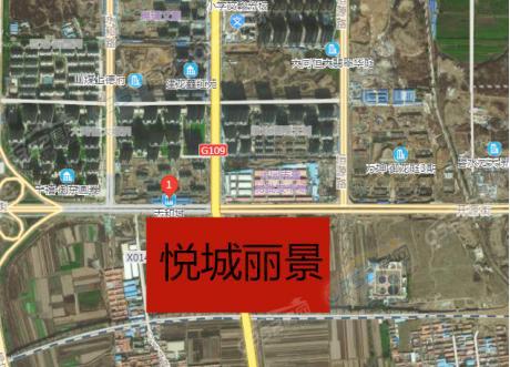 悦城丽景卫星图