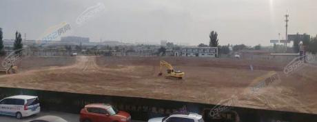 十里河畔项目10月工程进度