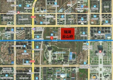瑞湖·云山府卫星图