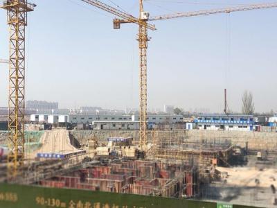 十里河畔4月工程进度