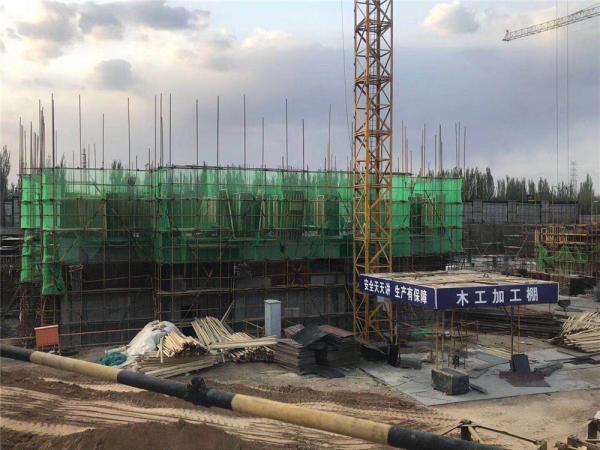 十里河畔5.17工程进度