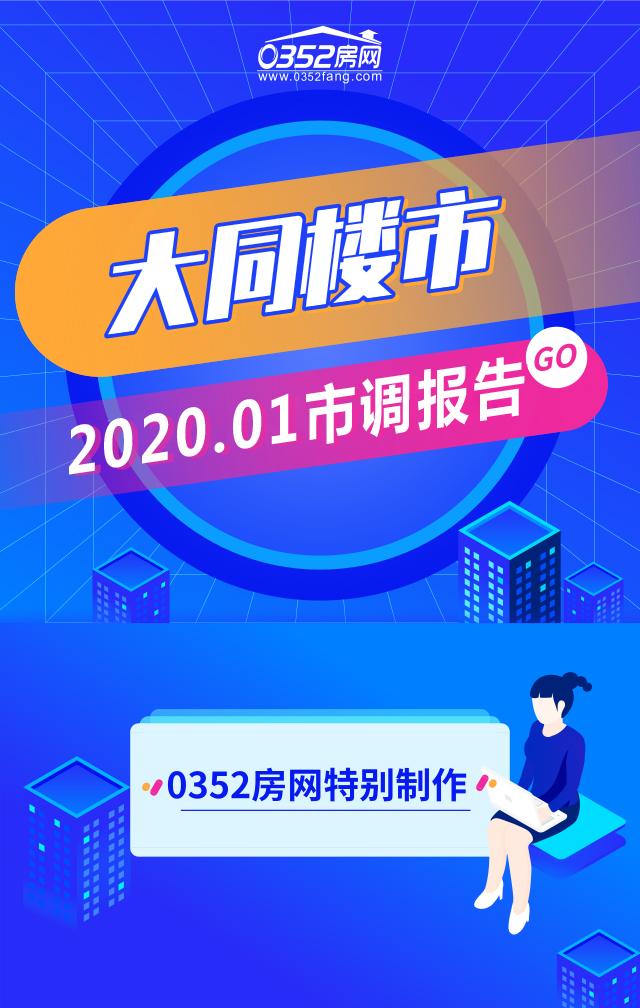 2020年01月大同楼市市调报告