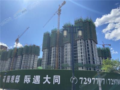 百花谷南区5.19实景图