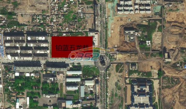 五龙巷卫星图
