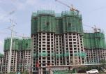枫林逸景紫御府8月工程进度 部分楼栋已封顶