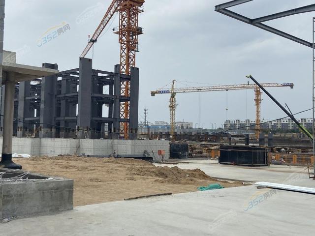 瑞湖云山府2020.8.13工程进度1