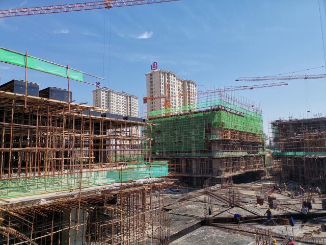 太和汇城市广场2020.09.25工程进度