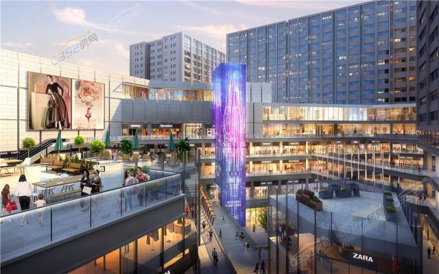 太和汇城市广场项目效果图1