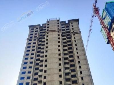 11月13日9#楼二次结构封顶