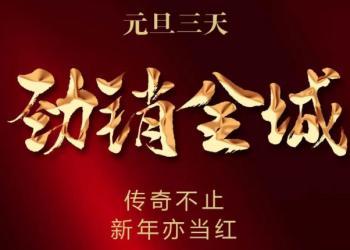 东方家园2021开门飘红 元旦三天劲销全城!